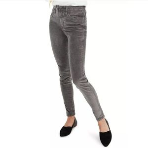 """Madewell 10"""" High Rise Skinny Jeans Cord Edition"""